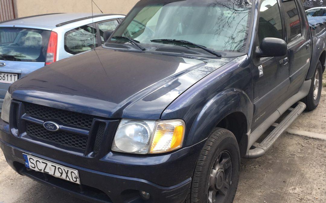 Druga licytacja ruchomości Ford Explorer Samochód ciężarowy, 06.11.2019r.,Osiny ul.Częstochowska 58